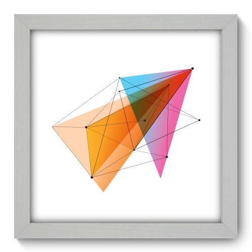 Quadro Decorativo Geometria N1197 22cm X 22cm