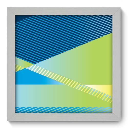 Quadro Decorativo Geometria N1198 22cm X 22cm