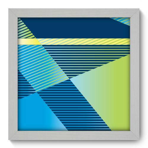 Quadro Decorativo Geometria N1199 22cm X 22cm