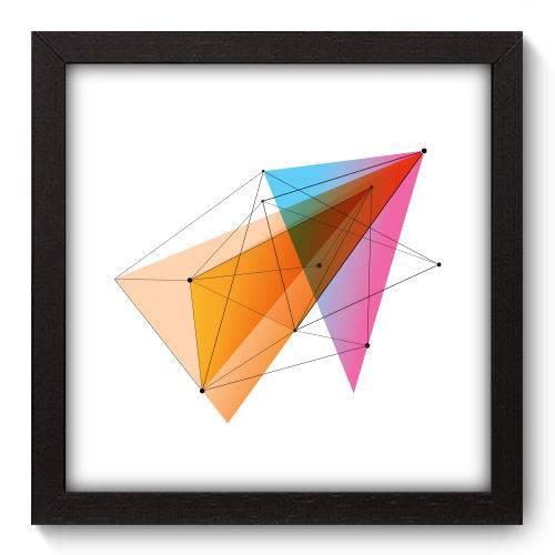 Quadro Decorativo Geometria N5197 22cm X 22cm