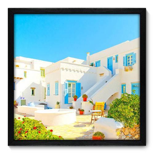 Quadro Decorativo - Grécia - 50cm X 50cm - 075qnmcp