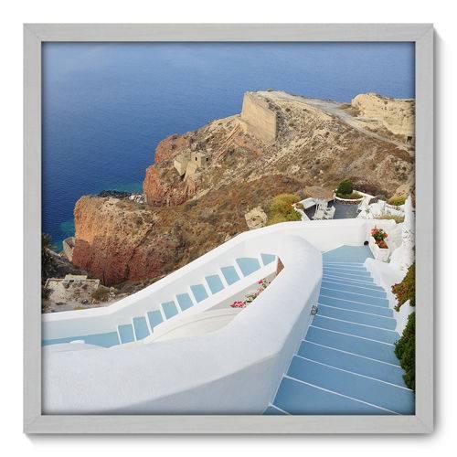 Quadro Decorativo - Grécia - N3074 - 50cm X 50cm