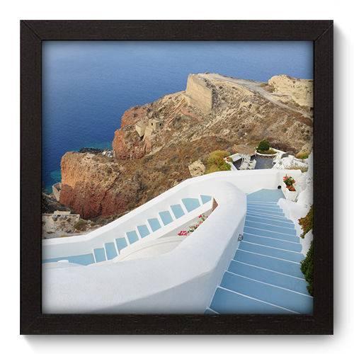 Quadro Decorativo Grécia N5074 22cm X 22cm