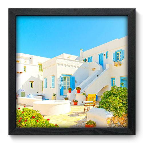 Quadro Decorativo Grécia N6075 33cm X 33cm