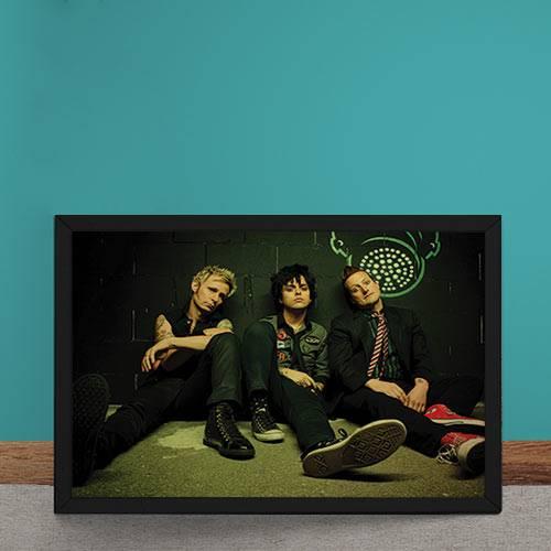 Quadro Decorativo Green Day