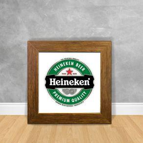 Quadro Decorativo Heineken Beer 03 Cerveja 13 Clara