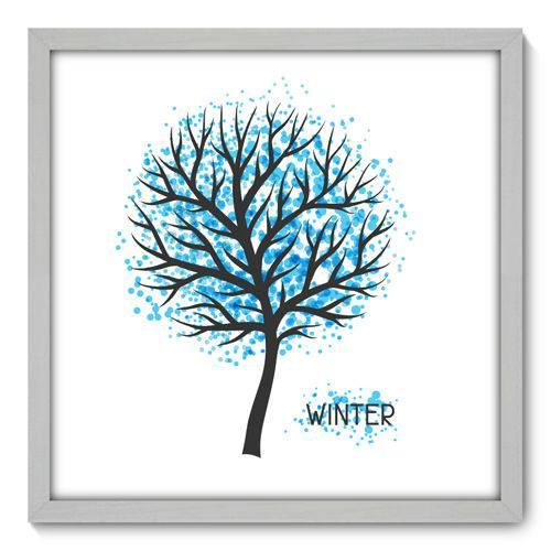 Quadro Decorativo - Inverno - N3081 - 50cm X 50cm