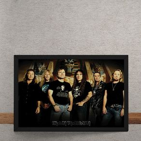 Quadro Decorativo Iron Maiden 25x35