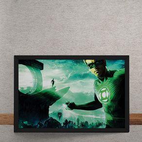 Quadro Decorativo Lanterna Verde DC Comics 25x35
