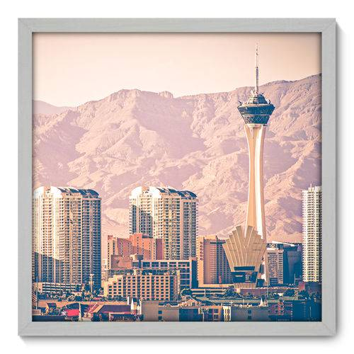 Quadro Decorativo - Las Vegas - N3061 - 50cm X 50cm