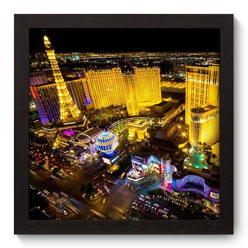 Quadro Decorativo Las Vegas N5042 22cm X 22cm