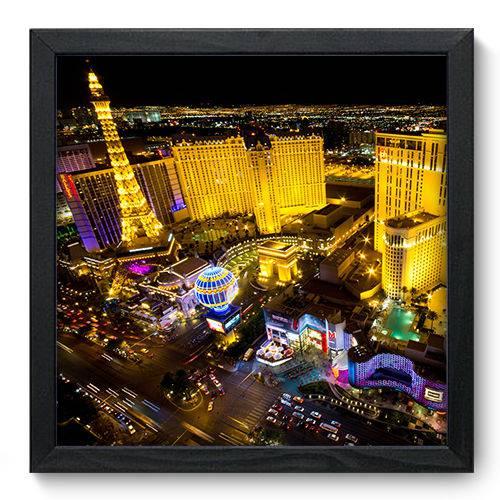 Quadro Decorativo Las Vegas N6042 33cm X 33cm