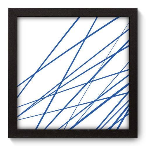 Quadro Decorativo - Linhas - 22cm X 22cm - 202qnaap