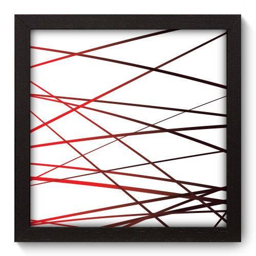 Quadro Decorativo Linhas N5201 22cm X 22cm
