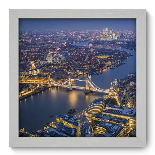 Quadro Decorativo - Londres - 22cm X 22cm - 084qnmab