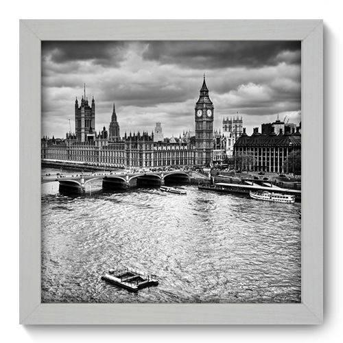 Quadro Decorativo - Londres - 22cm X 22cm - 083qnmab