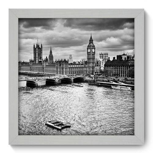 Quadro Decorativo Londres N1083 22cm X 22cm