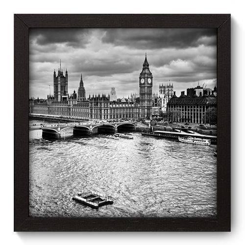 Quadro Decorativo Londres N5083 22cm X 22cm