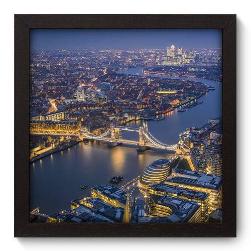 Quadro Decorativo Londres N5084 22cm X 22cm