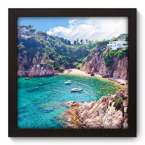 Quadro Decorativo - Mar - 22cm X 22cm - 089qnpap