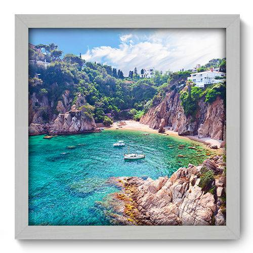 Quadro Decorativo - Mar - 33cm X 33cm - 089qnpbb
