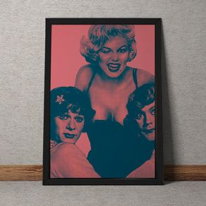 Quadro Decorativo Marilyn Monroe 35x25