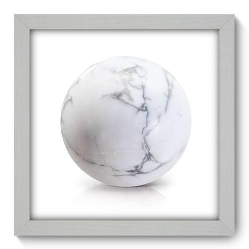 Quadro Decorativo - Mármore - 22cm X 22cm - 070qndab