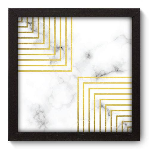 Quadro Decorativo - Mármore - 22cm X 22cm - 092qnaap