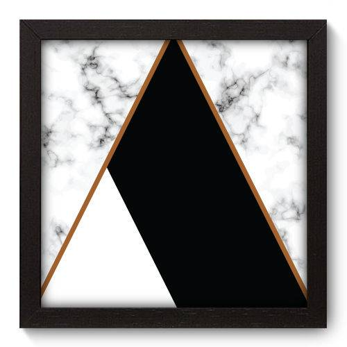 Quadro Decorativo - Mármore - 22cm X 22cm - 172qnaap