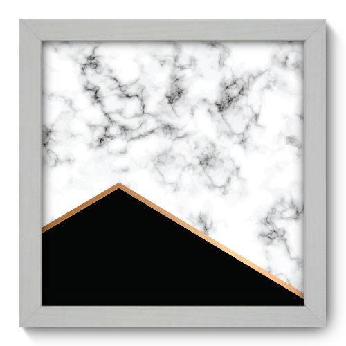 Quadro Decorativo Mármore N1174 22cm X 22cm
