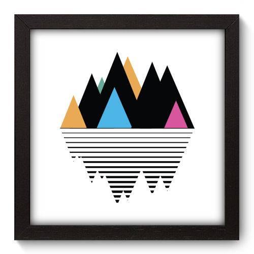 Quadro Decorativo - Montanha - 22cm X 22cm - 169qnaap