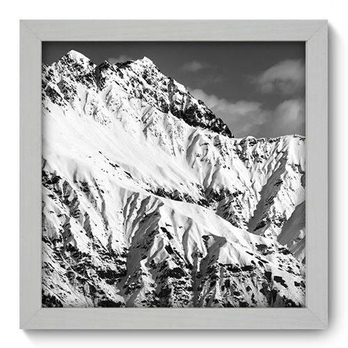 Quadro Decorativo Montanha N1083 22cm X 22cm
