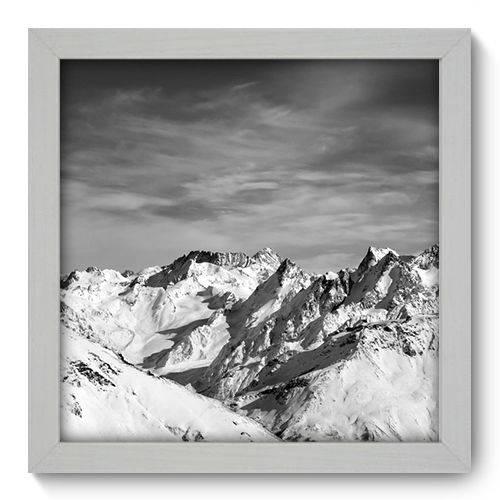 Quadro Decorativo Montanha N1084 22cm X 22cm
