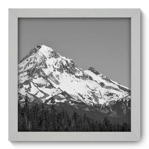 Quadro Decorativo Montanha N1086 22cm X 22cm