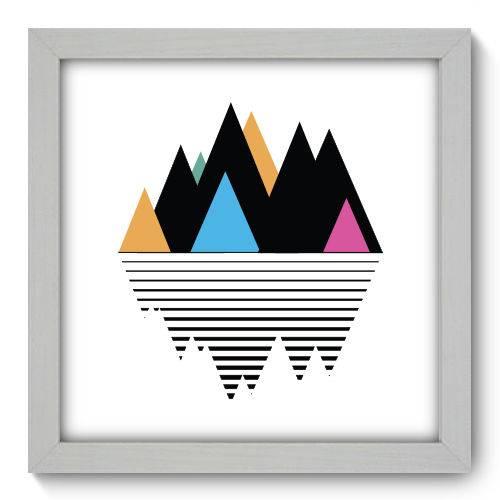 Quadro Decorativo Montanha N1169 22cm X 22cm