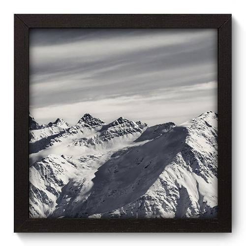 Quadro Decorativo Montanha N5055 22cm X 22cm