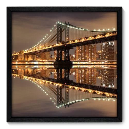 Quadro Decorativo - New York - 50cm X 50cm - 017qnmcp