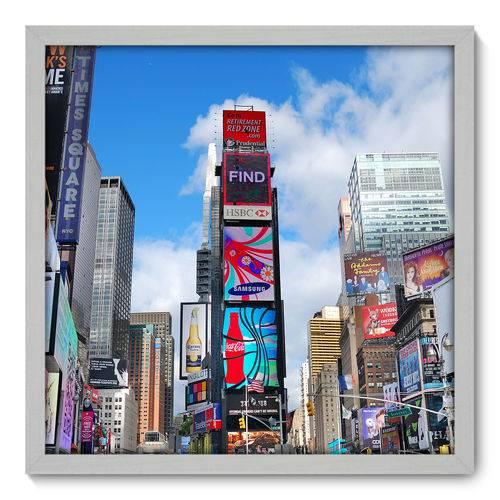 Quadro Decorativo - New York - 50cm X 50cm - 018qnmcb