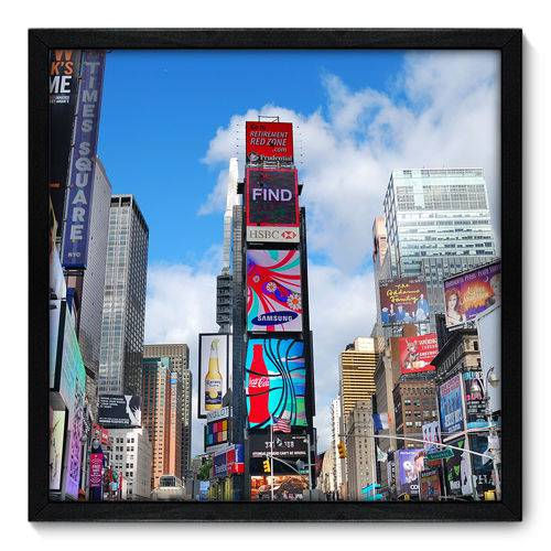 Quadro Decorativo - New York - 50cm X 50cm - 018qnmcp