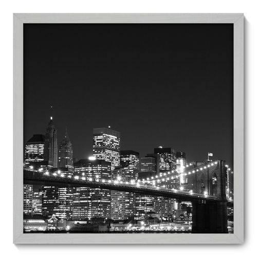 Quadro Decorativo - New York - 50cm X 50cm - 044qnmcb