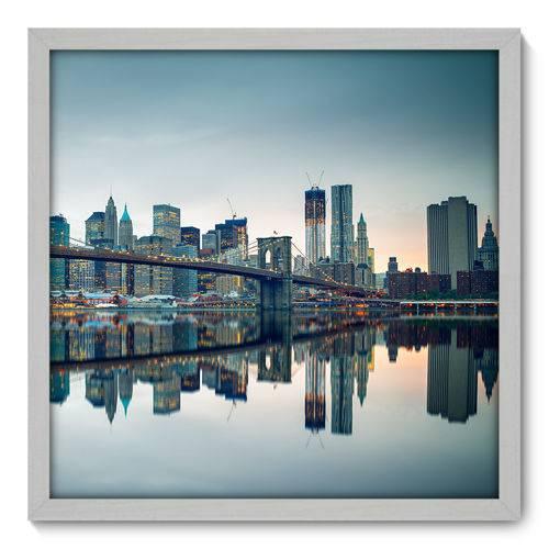 Quadro Decorativo - New York - 50cm X 50cm - 079qnmcb