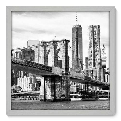 Quadro Decorativo - New York - 50cm X 50cm - 029qnmcb
