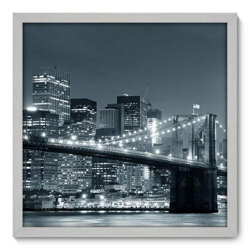 Quadro Decorativo - New York - 50cm X 50cm - 032qnmcb
