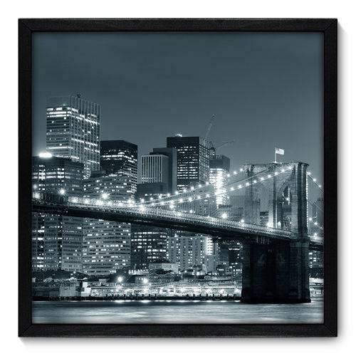 Quadro Decorativo - New York - 50cm X 50cm - 032qnmcp