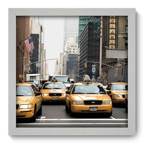 Quadro Decorativo - New York - 33cm X 33cm - 005qnmbb