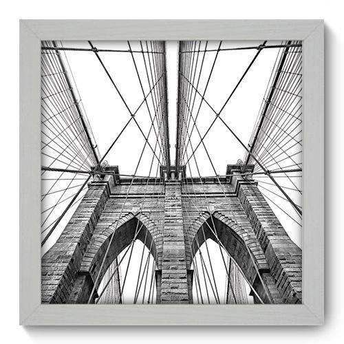 Quadro Decorativo - New York - 22cm X 22cm - 006qnmab