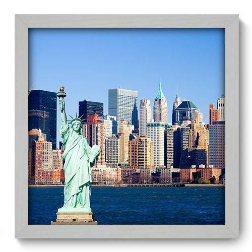 Quadro Decorativo - New York - 33cm X 33cm - 045qnmbb