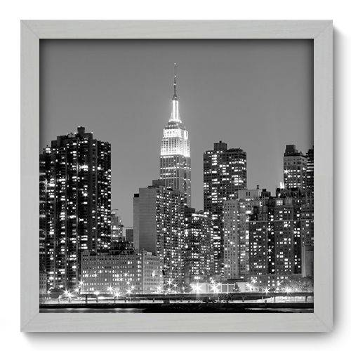 Quadro Decorativo - New York - 33cm X 33cm - 043qnmbb