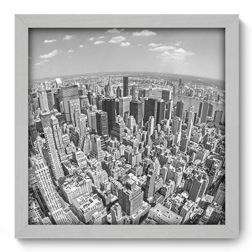 Quadro Decorativo - New York - 33cm X 33cm - 069qnmbb