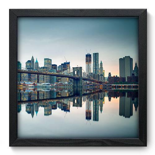 Quadro Decorativo - New York - 33cm X 33cm - 079qnmbp